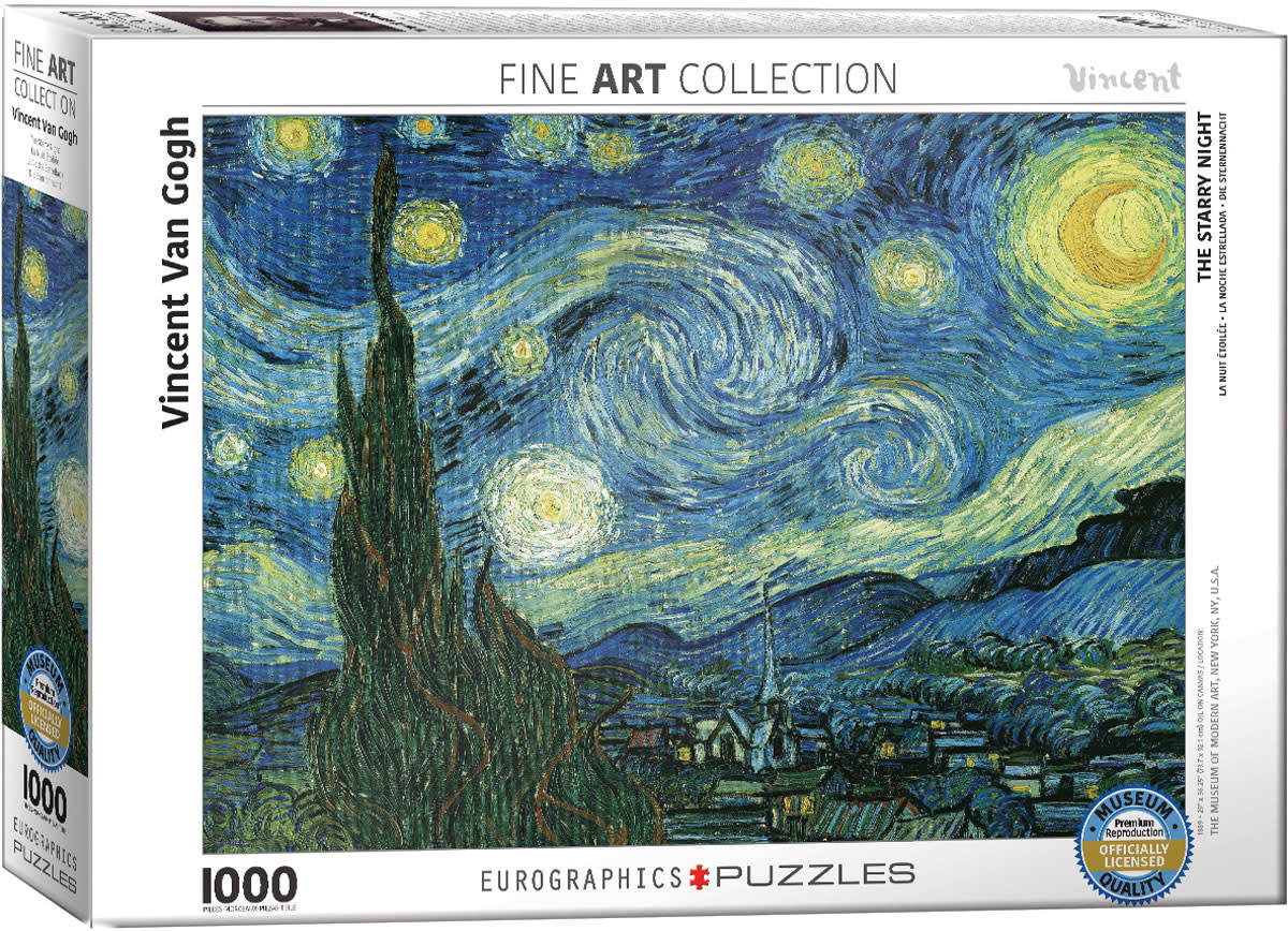 1000 - Starry Night (Van Gogh)