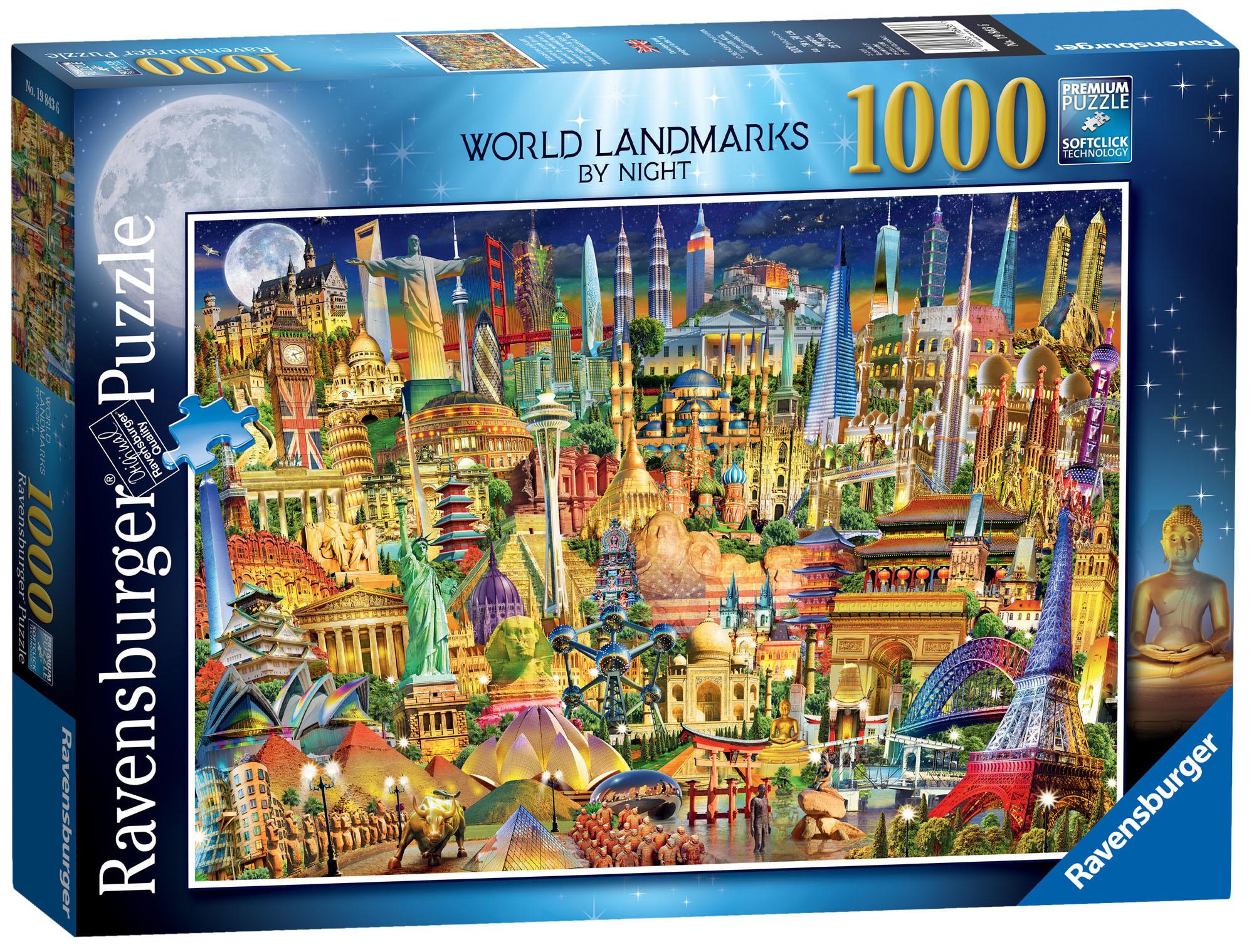 1000 - World Landmarks by Night