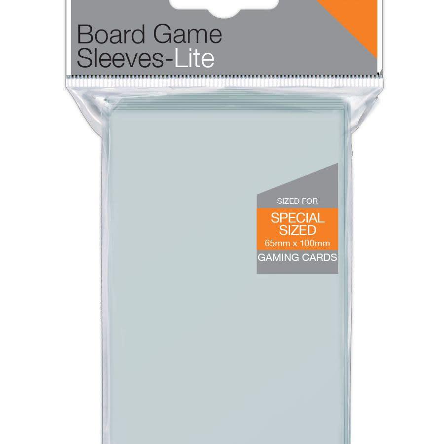 65mm x 100mm Lite 7 Wonders Board Game Sleeves 100ct