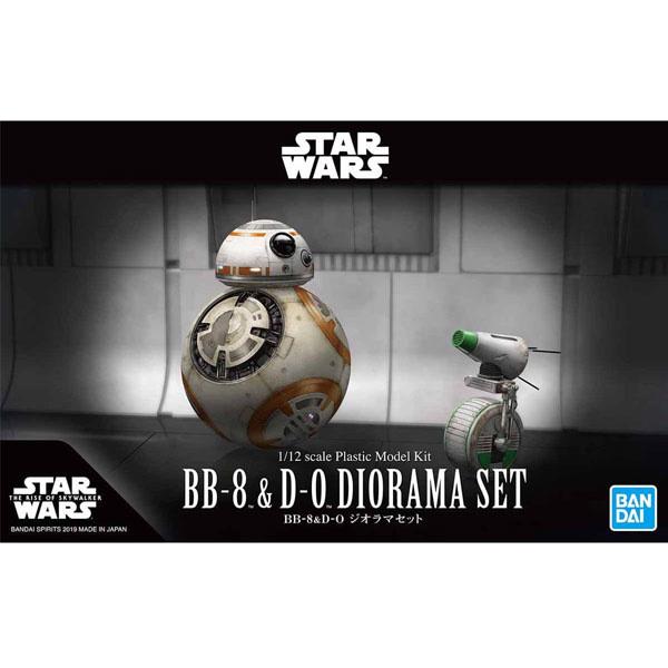 BB-8 & D-O Diorama Set - 1/12