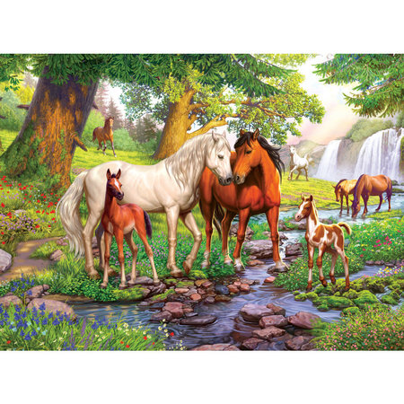 300 - Horses by the Stream