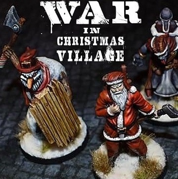 War in Christmas Village: Original Set