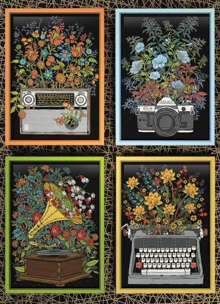 1000 - Floral Objects