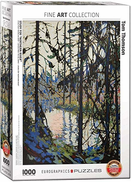 1000 - Study for Northern River (Thomson)