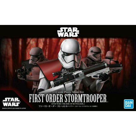 First Order Stormtrooper (The Rise of Skywalker) - 1/12