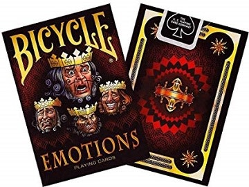 Bicycle Playing Cards - Emotions Deck