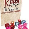 Dice Set - Kitten D6 12ct