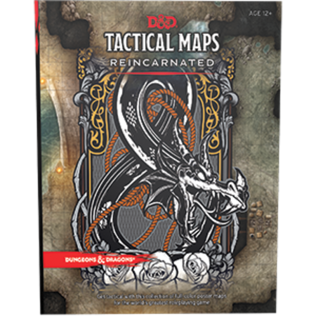 Dungeons and Dragons 5th Edition RPG: Tactical Maps Reincarnated