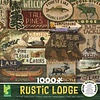 1000 - Rustic Lodge: Sign Collage