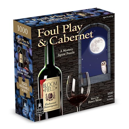 Mystery Puzzle - Foul Play & Cabernet