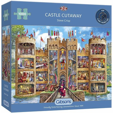 1000 - Castle Cutaway
