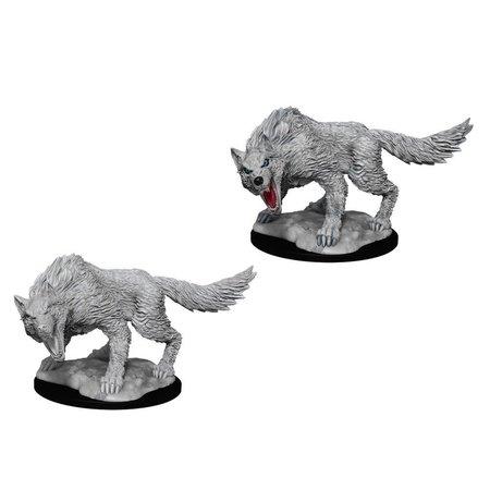 D&D Unpainted Minis - Winter Wolf
