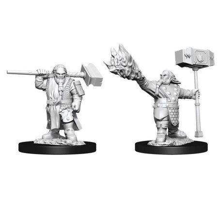 D&D Unpainted Minis - Dwarf Cleric (Male)