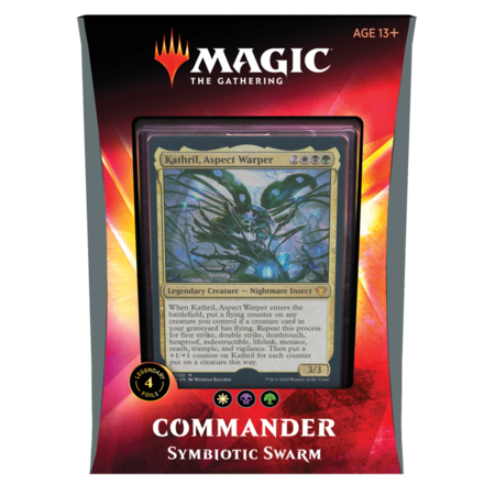 Ikoria Commander 2020: Symbiotic Swarm