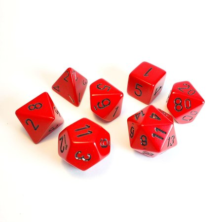 CHX 25414 Opaque Red w/Black
