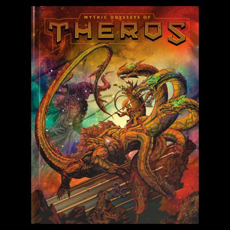 D&D 5e: Mythic Odysseys of Theros - Hobby Edition