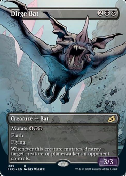 Dirge Bat - Foil