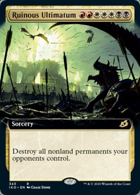 Ruinous Ultimatum - Foil