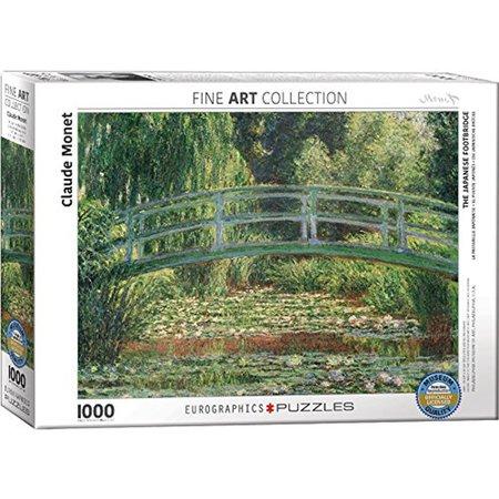 1000 - The Japanese Footbridge (Monet)