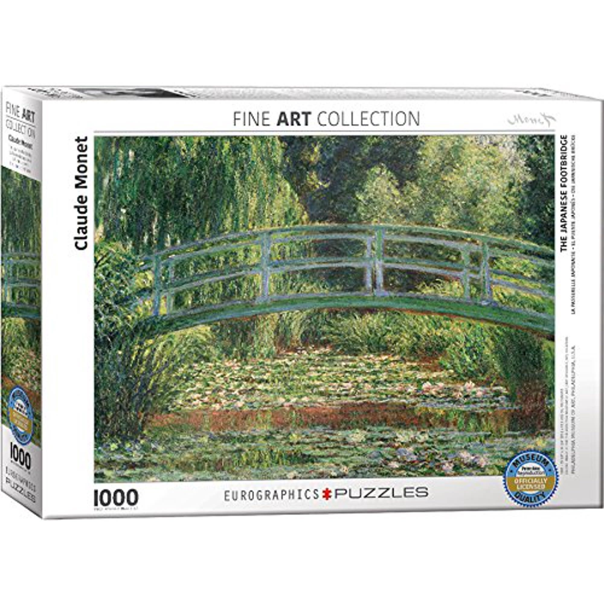 1000 - The Japanese Footbridge (Monet)