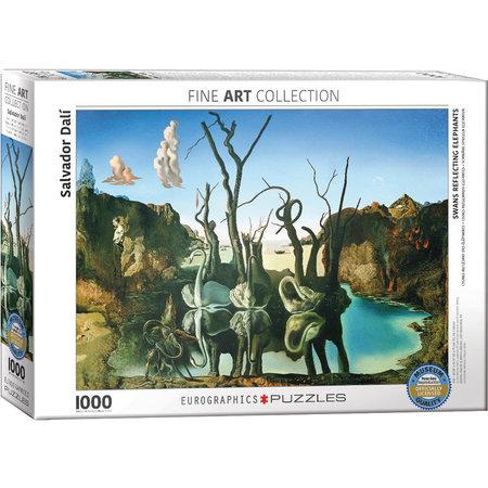 1000 - Swans Reflecting Elephants (Dali)