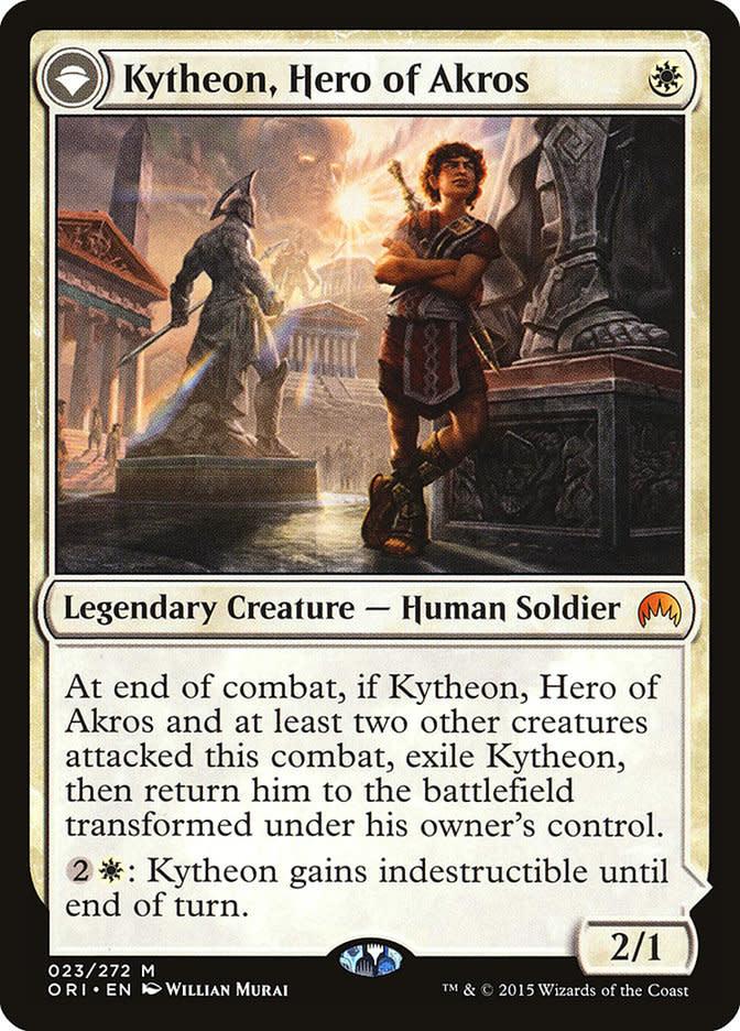 Kytheon, Hero of Akros // Gideon, Battle-Forged