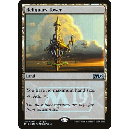 Reliquary Tower - Foil - Magic League Promo