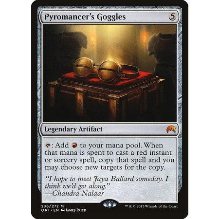 Pyromancer's Goggles