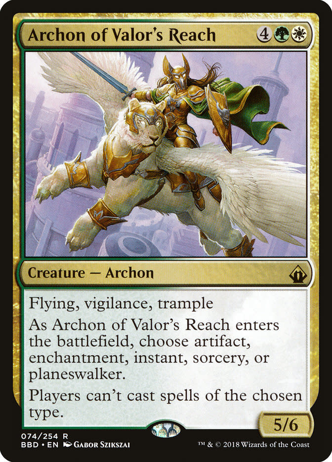 Archon of Valor's Reach - Foil