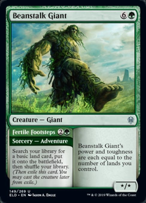 Beanstalk Giant // Fertile Footsteps - Foil