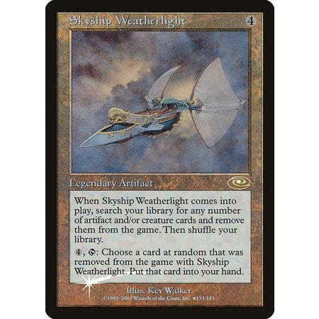 Skyship Weatherlight - Alternate Art