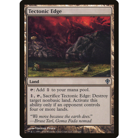 Tectonic Edge (French)