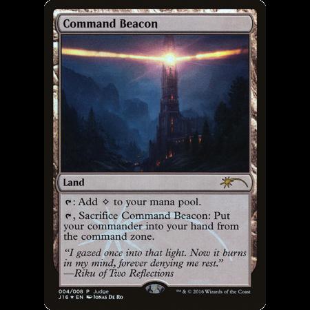 Command Beacon - Foil - DCI Judge Promo