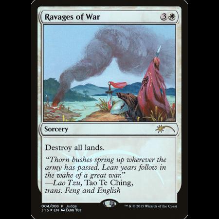 Ravages of War - Foil - DCI Judge Promo
