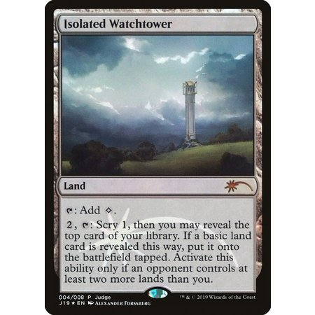 Isolated Watchtower - Foil - DCI Judge Promo