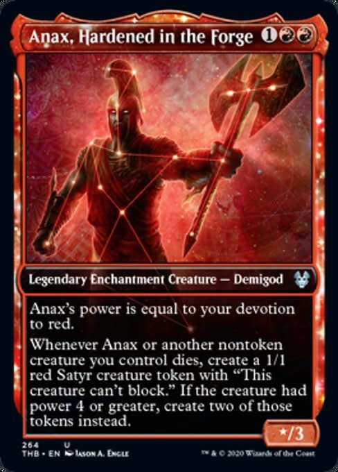 Anax, Hardened in the Forge - Foil