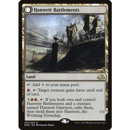 Hanweir Battlements // Hanweir, the Writhing Township