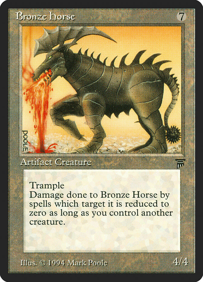 Bronze Horse (Japanese)
