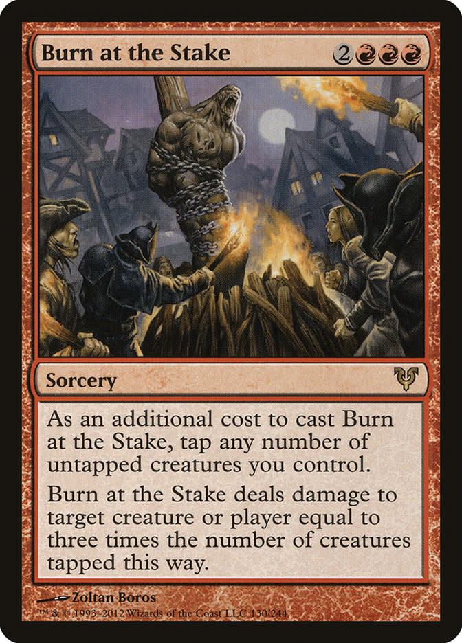 Burn at the Stake