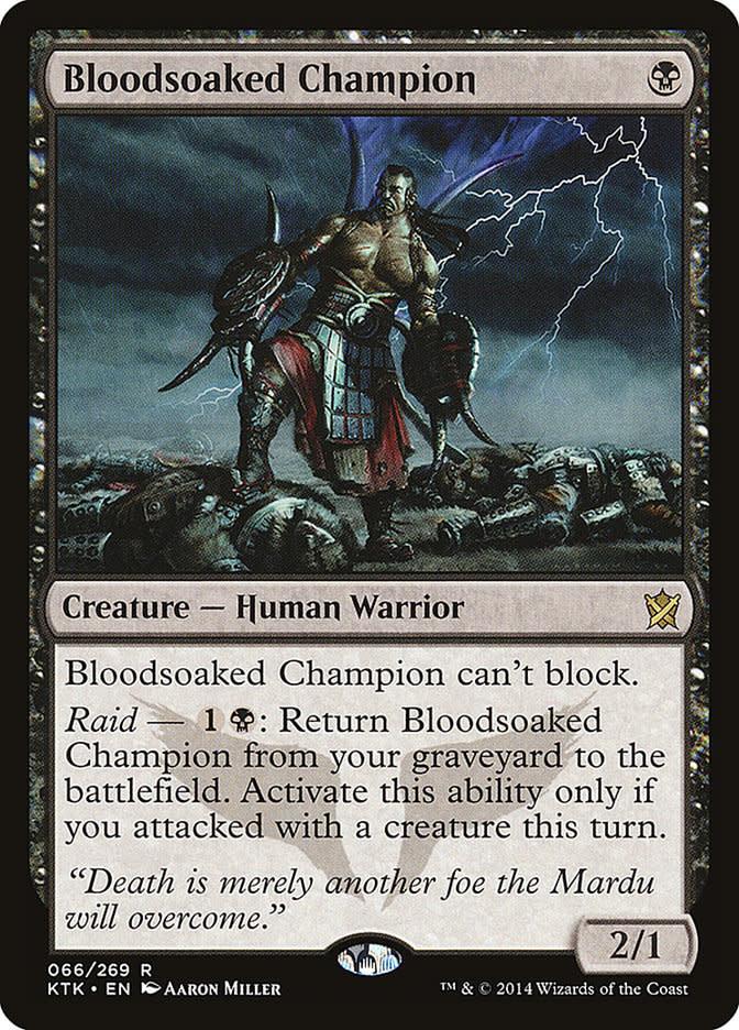 Bloodsoaked Champion - Foil