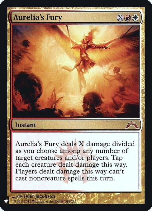 Aurelia's Fury - Foil