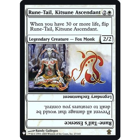 Rune-Tail, Kitsune Ascendant // Rune-Tail's Essence - Foil