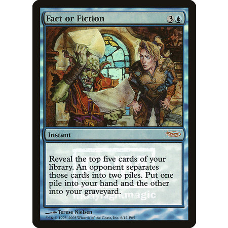 Fact or Fiction - Foil - Promo