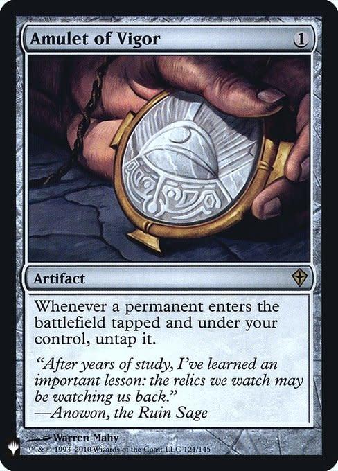 Amulet of Vigor - Foil