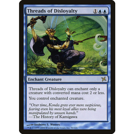 Threads of Disloyalty - Foil