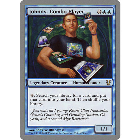 Johnny, Combo Player