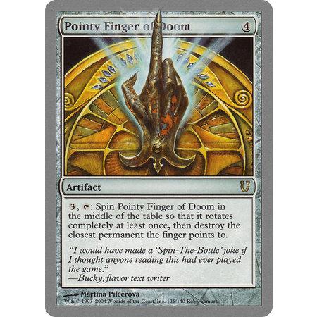 Pointy Finger Of Doom