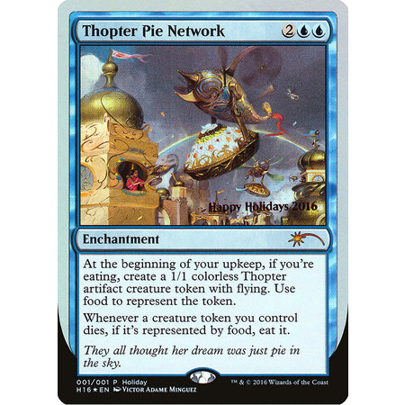 Thopter Pie Network - Foil