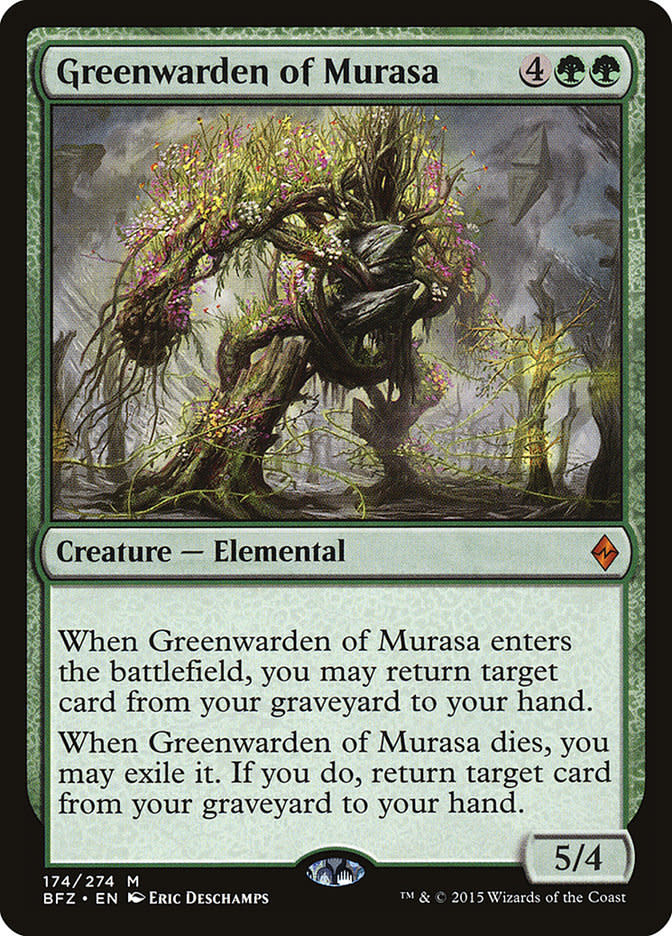 Greenwarden of Murasa - Foil