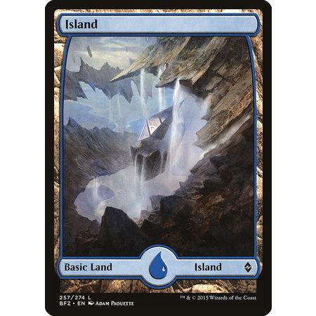 Island (257) - Full Art - Foil (Korean)